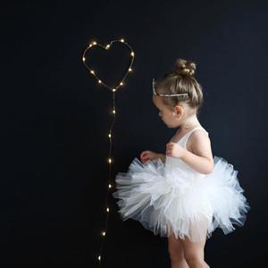 Moda ragazze tutu sottoveste super soffice principessa balletto danza tutu gonna gonna per bambini gonna gonna chritsmas abbigliamento per bambini festa di compleanno HNLY08