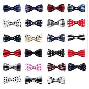 Britischen stil Baby streifengitter Krawatte Kinder plaid Dot Krawatte Mode Kinder Niedliche Krawatte Heiße Kinder Einstellbare Fliege