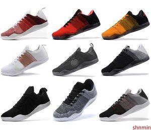 2020 de alta qualidade Mamba 11 Shoes Elite Men Basquete Bruce Lee FTB White Horse Red Horse calcanhar de Aquiles 11s preto Esportes sapatilhas do desenhista
