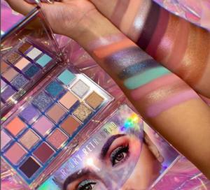 New Eye Makeup Mercury Retrograde 18 Colors Eye Shadow Rose Gold Eyeshadow Beauty Make Up Nude Shimmer Matte Shadows