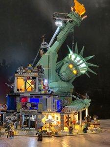 Добро пожаловать в Apocalypseburg Второй светодиодный комплект для совместимых IEGOset 70840 45014 Строительные блоки кирпичи Игрушки Подарки