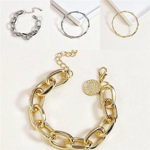 IF ME Vintage DIY Crystal Glass Beads Charms Bracelets For Women Famale Pendant Bracelets & Bangles Pulsera Jewelry Snake Chain#457
