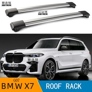 2pcs Roof Bars for-X7 (G07) [2019-today] SUV Aluminum Allioke Side Bars Cross Rails Roof Rack Laggen 200KG