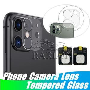 Chegada nova lente de câmera de vidro temperado para iphone 12 mini 11 pro max xs xr protetor de tela transparente capa completa