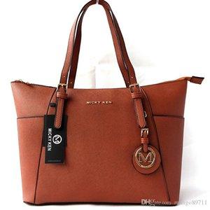 famosa marca Designer sacos de moda feminina de luxo MICKY KEN senhora PU sacos de bolsas de couro de marcas bolsa ombro Sacola feminino 682