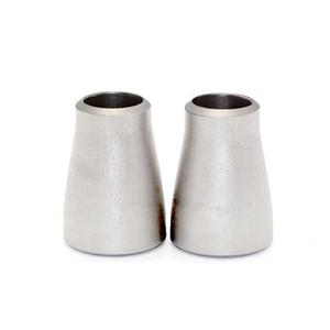 buona qualità e prezzo basso ppr raccordi per tubi prezzo di fabbrica ss316 testa saldata conc reducer gr2 gomito di titanio