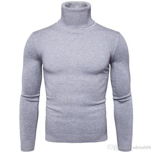 Winter Autumn Mens Turtleneck Sweaters designer Pullovers Clothing For Man Cardigans Knitted Sweater Male Sweaters High collar Hombre coats