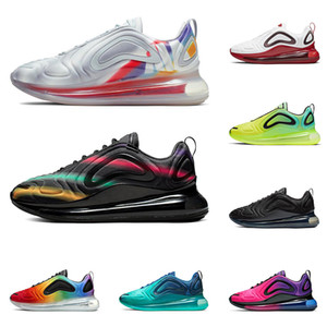 2019 nike air max airmax 720 uomo donna scarpe da corsa di alta qualità Be True Pride Obsidian triple nero bianco Easter Pack mens scarpe da ginnastica moda sport sneakers