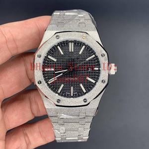 2020 시계 유명한 현대 남성 패션 시계 캐주얼 남성 자동 운동 스포츠 시계 프로스트 효과 15400