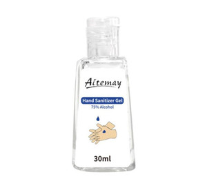 Aitemay instantanée Gel désinfectant pour les mains 30ml 50ml 60ml 236ml 500ml peau Sanitizer éthanol à 75% alcool désinfection des mains Gel savon liquide
