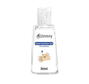 Aitemay 인스턴트 손 소독제 젤 30ML 50ML 60ml를 236ml 500ml의 피부 소독제 75 % 에탄올 알코올 소독 핸드 젤 액체 비누