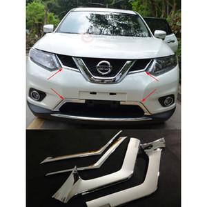 ABS غطاء السيارة الأمامي الوفير هود مصبغة الغلاف العلوي تريم لنيسان اكس تريل 2014-2016