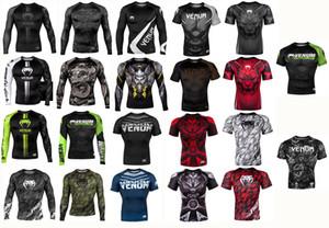 MMA SPORT MAGLIETTA RashGuard MANICA LUNGA Sport T-shirt