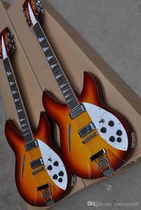cordas semi-ocas elétricos guitarra, entrada dupla, escala de pau-rosa, Frets ligação, serviço personalizado de alta qualidade