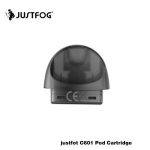 Original Justfog C601 Esvaziar Pod cartuchos de 1,7 ml 1.6ohm recarregáveis Pod para C601 bateria 100% Original fumadores acessórios Vape