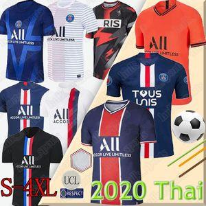 قميص كرة القدم رقم 2021 MBAPPE ICARDI SILVA CAFTBALL SHIRT CAVANI DI MARIA MARQUINHOS men kids sets uniforms