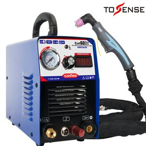 60A IGBT Air Plasma Cutter Machine CNC Compatible- Pilot Arc Power UP 1-18mm,110 220v with Free Accessories