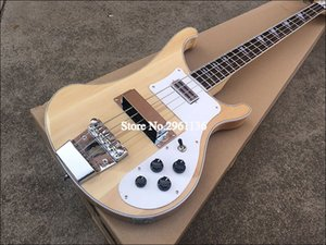2019 High quality electric guitar, Ricken 4003-4 strings bass guitar,natural color, free shipping