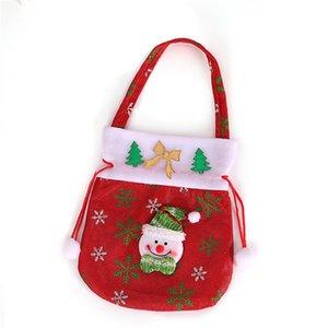 Galleta de la Navidad de embalaje bolsas de plástico autoadhesivas para las galletas de la torta de cumpleaños de caramelo paquete lindo de la historieta bolsas de regalos