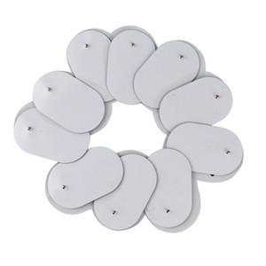 10pcs / lot 3.5mm tampons d'électrode de gel de prise pour stimulateur de muscle nerveux / masseur amincissant / acupuncture TENS Massager électrique