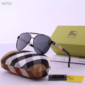 Femmes à la mode homme lunettes de soleil de personnalité colorée lumière polarisée avec haute définition lentille lunettes de soleil avec boîte peuvent être en gros