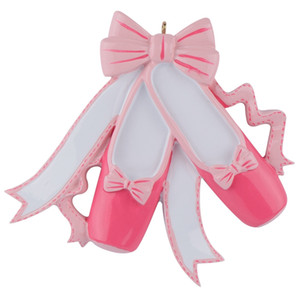 Maxora Bailarina Polyresin Glossy Enfeites de Árvore de Natal Presentes Personalizados Usado Para Festa de Natal e Casa Decoração de Ano Novo