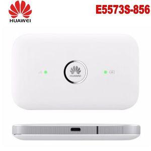 Desbloqueado Huawei E5573S-856 E5573 Dongle WiFi Router Móvel Hotspot Sem Fio 4G LTE FDD Roteador Portátil + 2 Pcs Antena