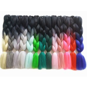 2020 New products synthetic braiding extensions jumbo braids crochet hair synthetic Jumbo Braiding Hair Hair Extensions