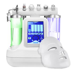 Hydrofacial Dermabrazyon makine 7in1 su Mikrodermabrazyon Peel Hydra Cilt Yüz Güzellik Derin cilt gözenek temizleme makinesi Fe nakliye