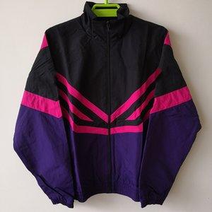HOT Designer vestes pour hommes femmes rayures Marque coupe-vent Manteau Zip Sweats à capuche mince Sport d'extérieur Rue Hiphop Casual Poids léger B100042L