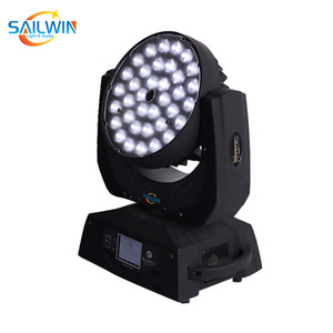 Stage Light 36 * 15W 5in1 RGBWA ZOOM LED Moving Head Wash Lyre Effet lumineux LED d'éclairage