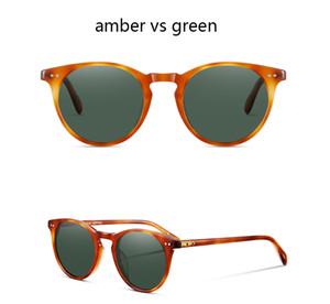 OV5256 retro annata occhiali da sole firmati all'aperto Occhiali da sole occhiali da sole polarizzati Sir O'malley maschio di guida degli uomini delle donne