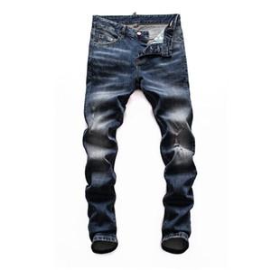 2020 Yepyeni Erkek mor marka kot Tasarımcı erkekler Biker Motosiklet Denim Jeans Moda lüks pantolon Biker kot Ripped sıkıntılı