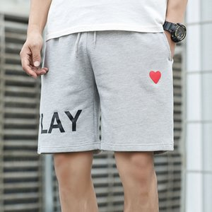 Mens Jogger Short Pants Fashion Stylist SportShort Casual Sweatpants Casual Trend Little Red Heart Jersey 2020 Summer New Play Enjoy Vintage