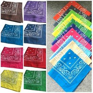55*55CM Novelty Double Print Hip Hop Bandanas magic headscarf Handkerchiefs Print Head Wrap Scarf Party Favor T2I51140