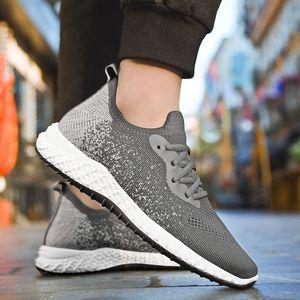 2020 G.N.SHIJIA Fashion Top qualité PU Semelle en caoutchouc noir blanc Femmes Hommes Chaussures de course Sport Sneakers