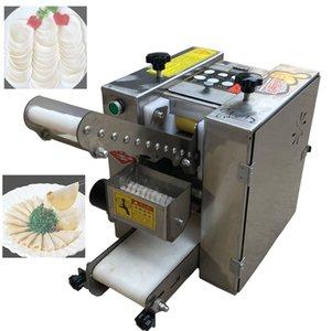 2020 máquina automática folha Chamuça pastelaria pele wonton quadrado formando máquina de bolinho de massa redonda invólucro máquina Jiaozi