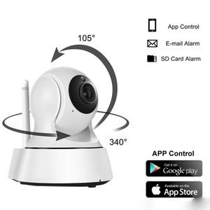 Seguridad para el hogar Mini cámara IP inalámbrica Cámara de vigilancia Wifi V380 720 P Cámara CCTV de visión nocturna Monitor de bebé