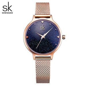 Vendita calda Moda Elegante Quarti donne orologio da polso nuove signore della vigilanza di marca oro della Rosa delle donne di lusso Relogio Feminino Reloj Mujer