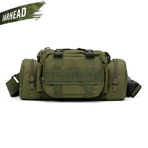 Outdoor Molle Camera Bag Camouflage Multifunction Pockets Army Tactical Camera Running Fishing Shoulder Sport Waist Bag