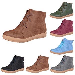 MoneRffi Yeni loafer'lar Sneakers Casual Retro El Dikiş Ayakkabı Kadınlar Flats pu Deri Dantel-up Hafif Yumuşak Alt Ayakkabı