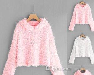 Sweety Harajuku Hoodies Felpa Donna autunno caldo Streetwear Solid Cappuccio con cappuccio Donne Moda Abbigliamento Moletom
