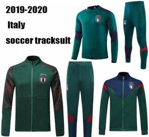 19 20 European Cup Itália set futebol jaqueta de agasalho IMMOBILE ITALY BELOTTI Verratti Chiellini INSIGNE futebol jaqueta sportswear calcio