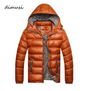 DIMUSI hiver Veste Mode coton épais thermique Parkas Casual Male Outwear Vêtements coupe-vent Hoodies Marque 5XL, TA253factorySH190902