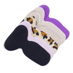 1Pair 2in1 Frauen-Silikon-Gewinde Dickere Orthopädische Einlegesohlen-T-Form Anti-Rutsch-Kissen-Fuss-Fersenschutz Liner Schuh-Einlegesohlen-Pads