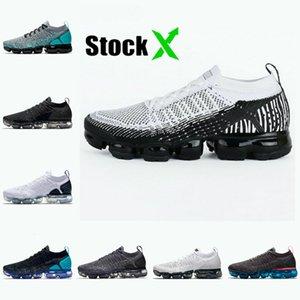 Las ventas de acciones X Vamaxpor para mujer para hombre de los zapatos corrientes de 1-3 Grey Gum Orbit color de rosa caliente de color caqui Corredor del rojo azul vapores Fly 1.0 2.0 3.0 Entrenadores zapatillas de deporte