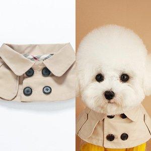 Designer Hundehalsband Schal Hunde Saliva Handtuch Teddy Bulldog Schnauzer Gürtel Katzen Hunde-Bekleidung Zubehör Pet Supplies