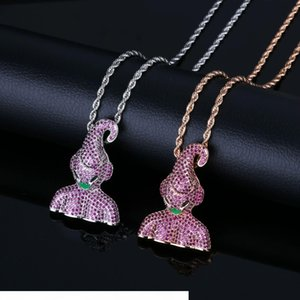Seven Dragon Pearl Cartoon Characters Magic Doll Necklace Hip Hop Necklace Personality Trends