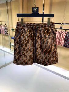 19 novos calções de moda verão atacado nova placa de designer seção curta de secagem rápida swimwear impresso board calças de praia dos homens de natação sho