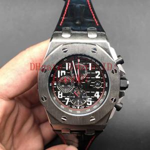 Joan007 Relojes famoso moderno reloj de los hombres de moda casual para hombre del cronógrafo de cuarzo reloj del deporte 42mm